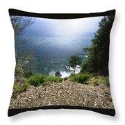 The Lost Coast - Sinkyone Wilderness Throw Pillow