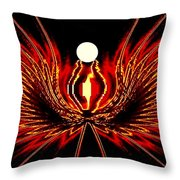 The Lost Pearl Throw Pillow