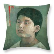 The Lost Prince Throw Pillow