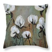 The Love Of Cotton Throw Pillow