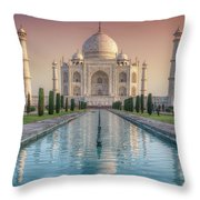 The Love Of Taj Throw Pillow