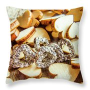 The Lovers Collection Throw Pillow