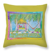 The Lower The Latitude Throw Pillow