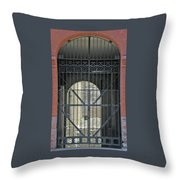 The Lowertown Alleyway Throw Pillow