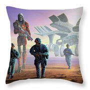 The Loyalists Throw Pillow