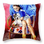 The Loyalty - La Fidelidad Throw Pillow
