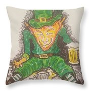 The Luck Of The Irish Throw Pillow
