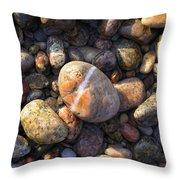 The Lucky Rock Throw Pillow