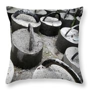 The Lumps Throw Pillow