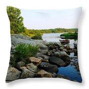 The Lund Throw Pillow