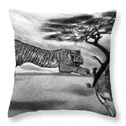 The Lunge Throw Pillow