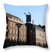 The Lur Blowers Throw Pillow
