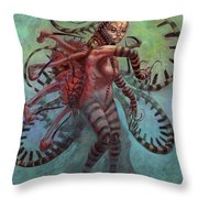 The Lure Mimic Throw Pillow