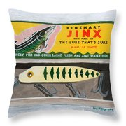 The Lure That Throw Pillow