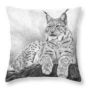 The Lynx 2017 Version Throw Pillow