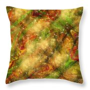 The Madness Of Christmas Throw Pillow