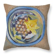 The Magic Bowl II Throw Pillow