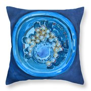 The Magic Bowl Throw Pillow