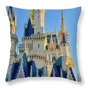 The Magic Castle Throw Pillow