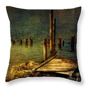 The Magic Hour.. Throw Pillow