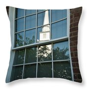The Magic Of Reflections Throw Pillow