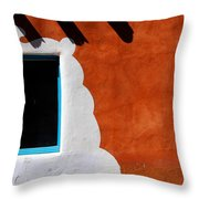 The Magic Of Santa Fe Throw Pillow