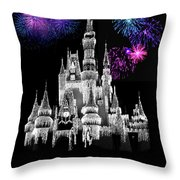 The Magical Kingdom Castle Throw Pillow