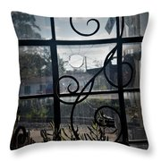 The Magicians Across The Tracks Throw Pillow