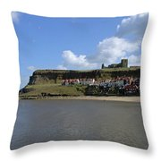 The Majestic East Cliff Throw Pillow