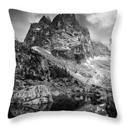 The Majesty Of Mountains Throw Pillow