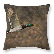 The Mallard Throw Pillow