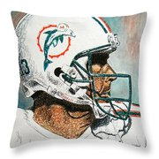 The Man Throw Pillow
