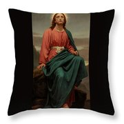 The Man Of Sorrows Throw Pillow