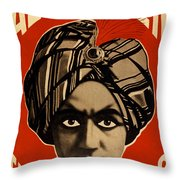 The Man Who Knows Throw Pillow
