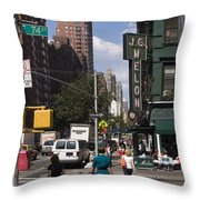 The Manhattan Sophisticate Throw Pillow