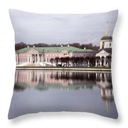 The Manor Of Kuskovo, Moscow Throw Pillow