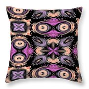 The Many Faces Of Eve Throw Pillow