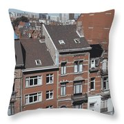 The Many Layers Of Brussels Throw Pillow