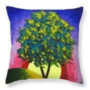 The Maple Tree Throw Pillow