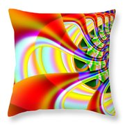 The Marching Band . Square . S14 Throw Pillow