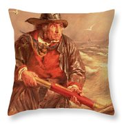 The Mariner Throw Pillow