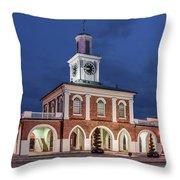 The Market House Throw Pillow