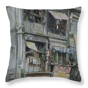 The Marks Of Time Throw Pillow