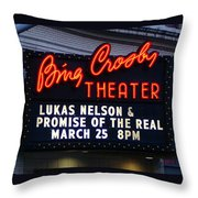 The Marquee Throw Pillow