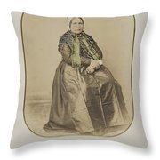 The Married Woman Throw Pillow