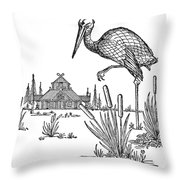 The Marsh Kings Daughter Throw Pillow