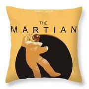 The Martian Throw Pillow