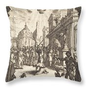 The Martyrdom Of Saint James Major Throw Pillow