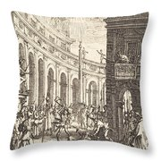 The Martyrdom Of Saint Thaddeus Throw Pillow