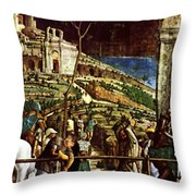 The Martyrdom Of St Jacques Throw Pillow